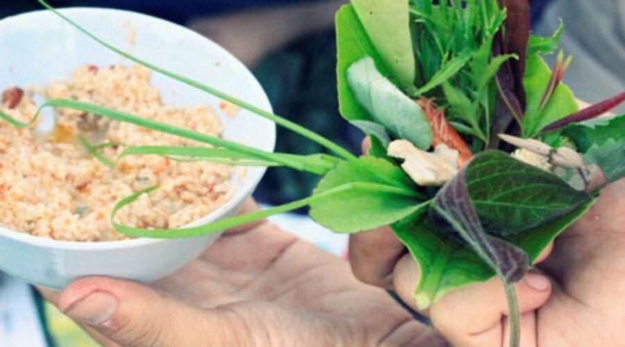 Gỏi lá Kon Tum được công nhận đạt giá trị ẩm thực Châu Á lần thứ 2/2013