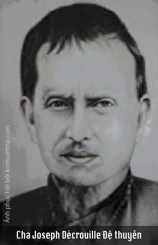 Cha Joseph Décrouille Đệthuyên chuyển về địa sở Kontum