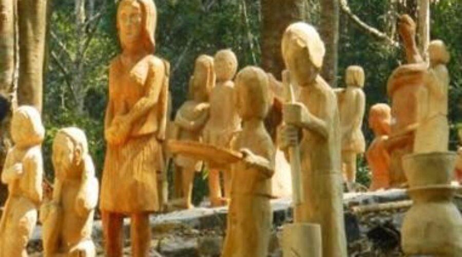 Nghệ thuật Tạc tượng gỗ dân gian ở Kon Tum – Di sản văn hóa độc đáo của Tây Nguyên
