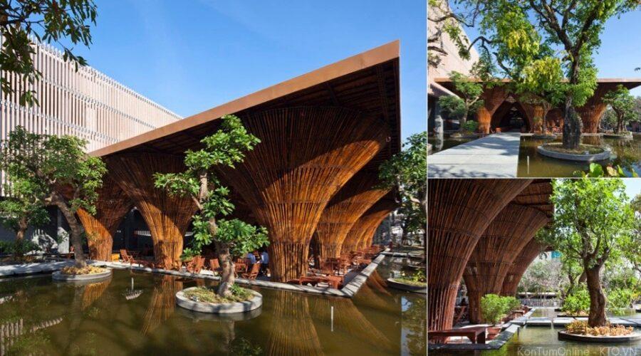 Kiến trúc xanh: Café Indochina
