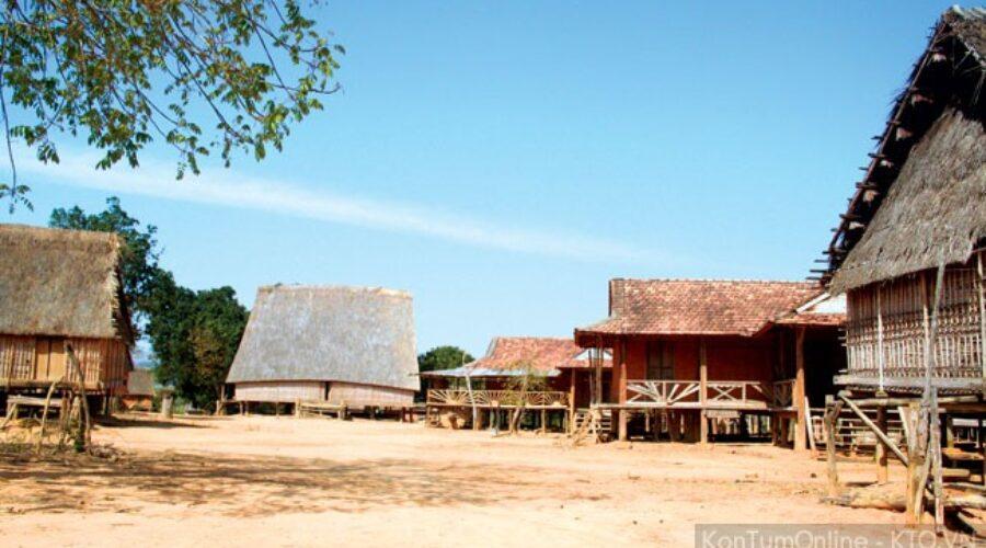 Vẻ đẹp nguyên sơ của ngôi làng bỏ hoang ở Tây Nguyên