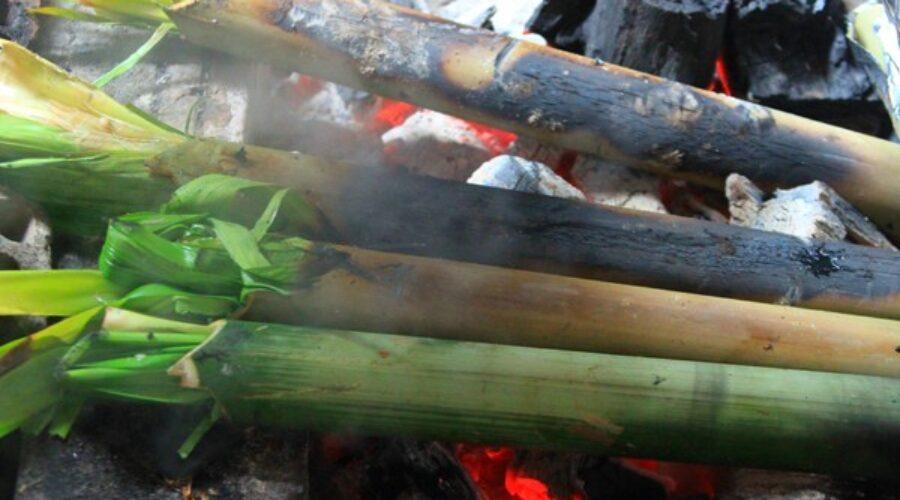 Đặc sản núi rừng Tây Nguyên: Bò nướng ống tre