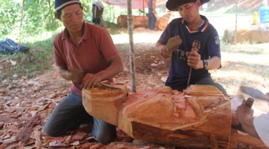 Kỳ thú rừng tượng gỗ Măng Đen