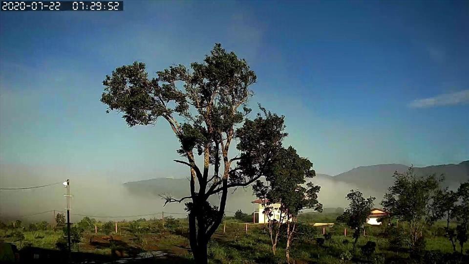 Phong cảnh thiên nhiên hoang sơ. Ảnh Minh Châu