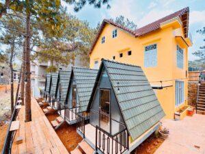 Mountain Lodge Homestay Mang Den photos Exterior Mountain Lodge Homestay M ng en 4