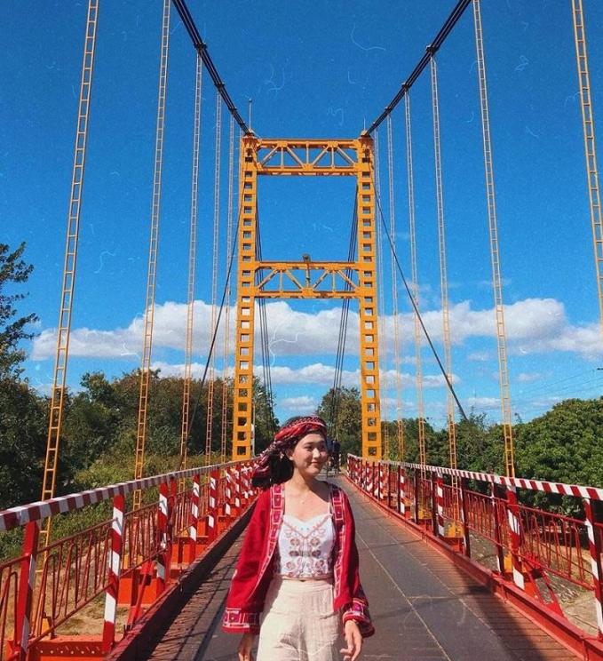 Bình yên trên cây cầu treo Kon Klor giữa núi rừng Tây Nguyên