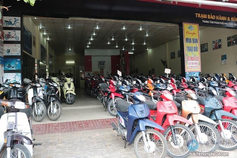 cửa hàng cho thuê xe máy văn tuấn