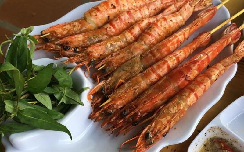 Ốc nướng lẩu Kon Tum