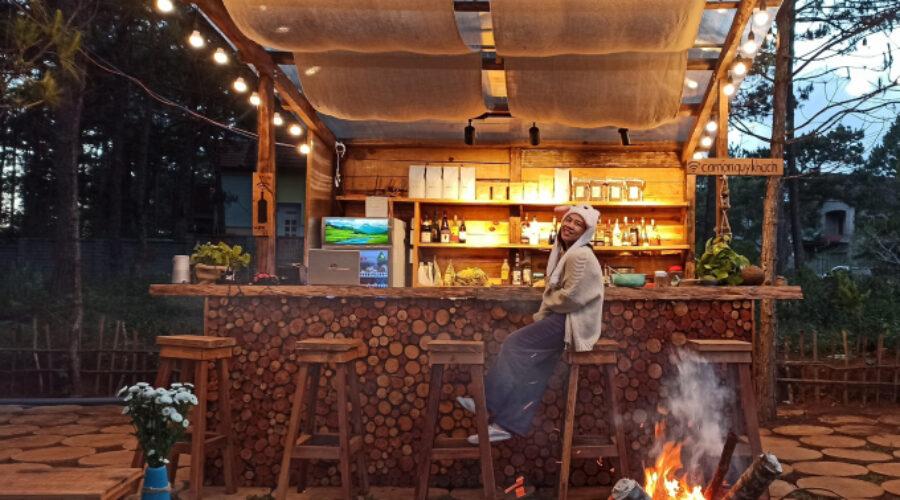 Ngây ngất cùng quán cà phê Amazon Coffee and Pub Măng Đen