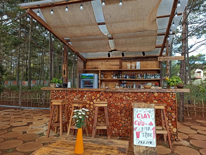 Ngây ngất cùng quán cà phê núi rừng Kon Tum Amazon Coffee and Pub