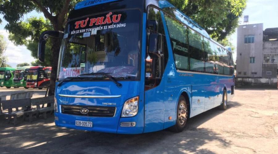 Top 7 nhà xe uy tín nhất chạy tuyến Kon Tum – TP HCM