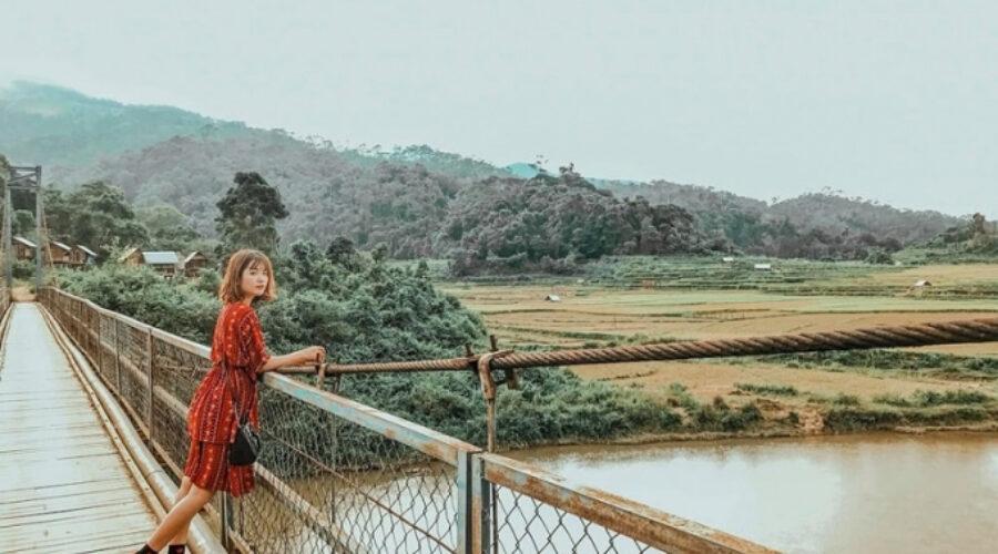 Sống ảo thả ga tại khu sinh thái Măng Đen nổi tiếng Kon Tum