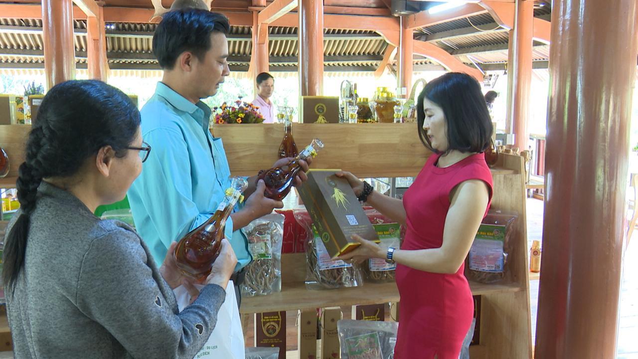 Resort Đăk Ke - Măng Đen mở Cửa hàng bán, giới thiệu các sản phẩm OCOP