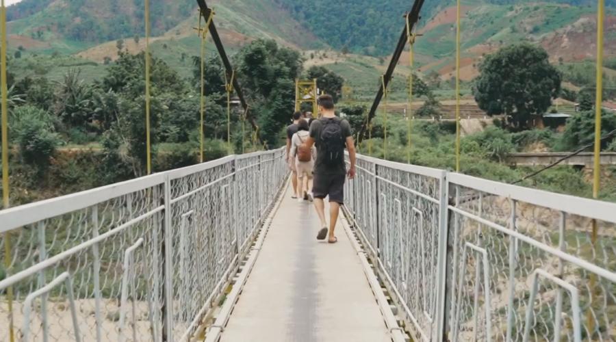 Kon Tum bình yên qua video của Làng Hồ Tourist